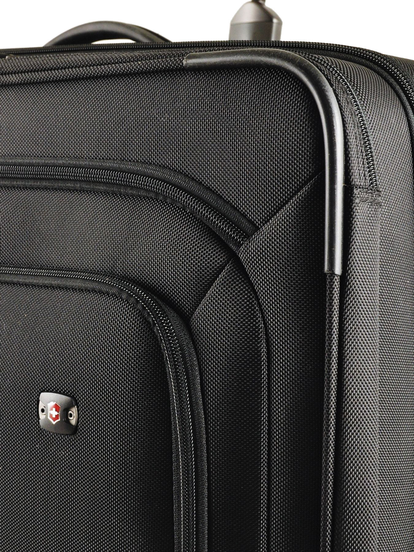 dd055496b ... Softside Luggage Werks Traveler Victorinox Black werks traveler 313003  other view 1 ...