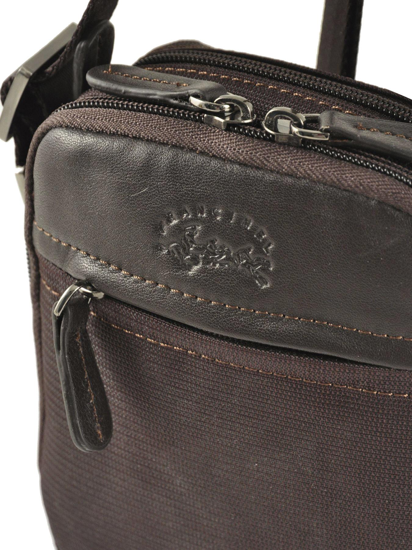 Pochette petite sacoche Francinel 653102 marron fonce en vente au ... 18a68bc543b