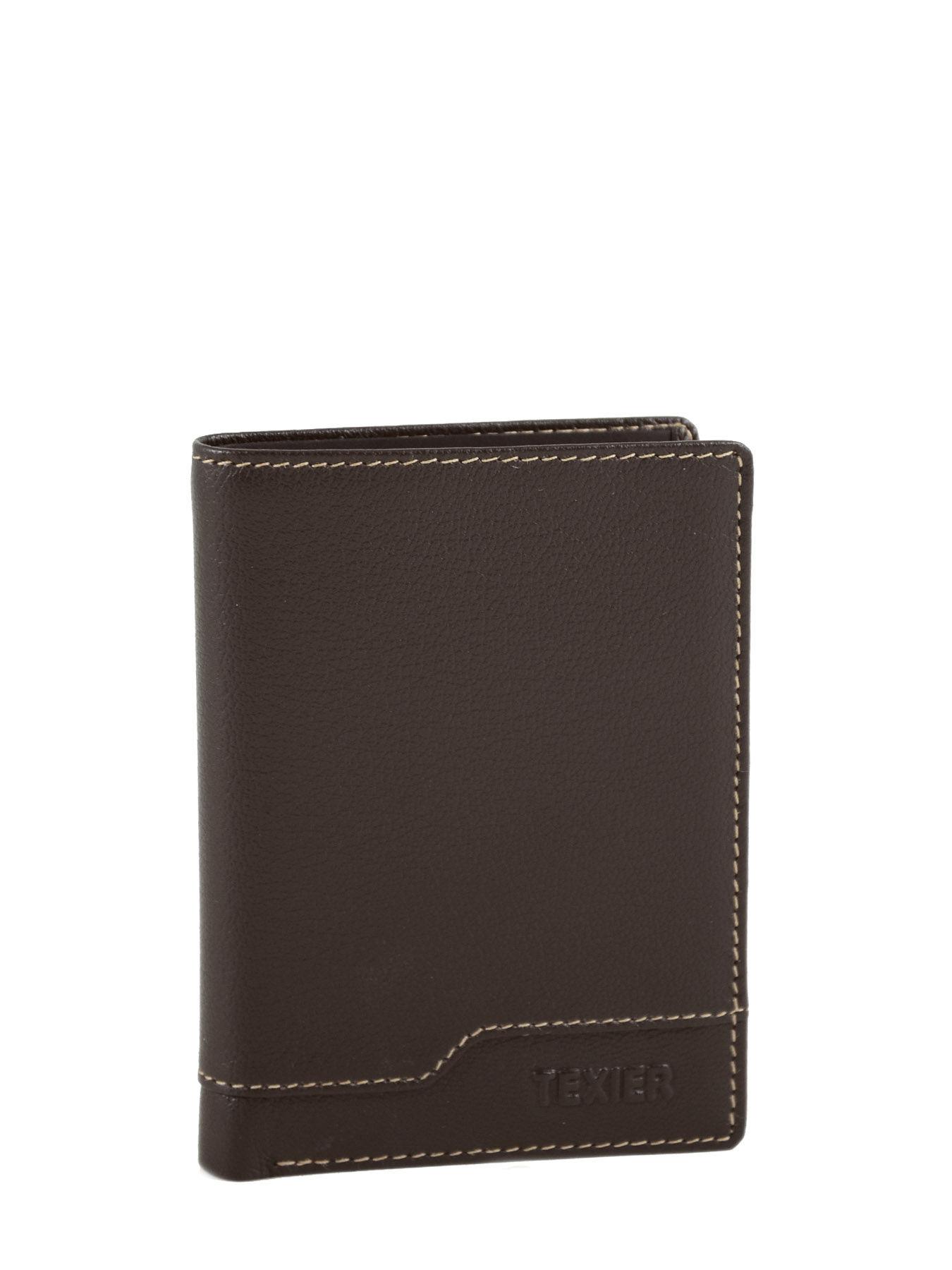 Porte cartes texier montana vison en vente au meilleur prix for Porte en solde
