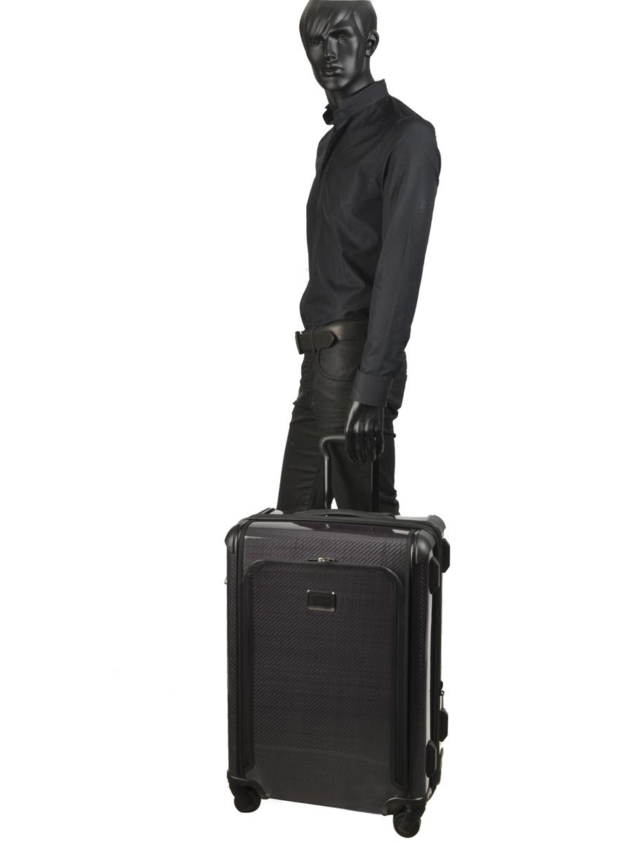 Hardside Luggage Tegramax Tumi Gray tegramax 28724-vue-porte