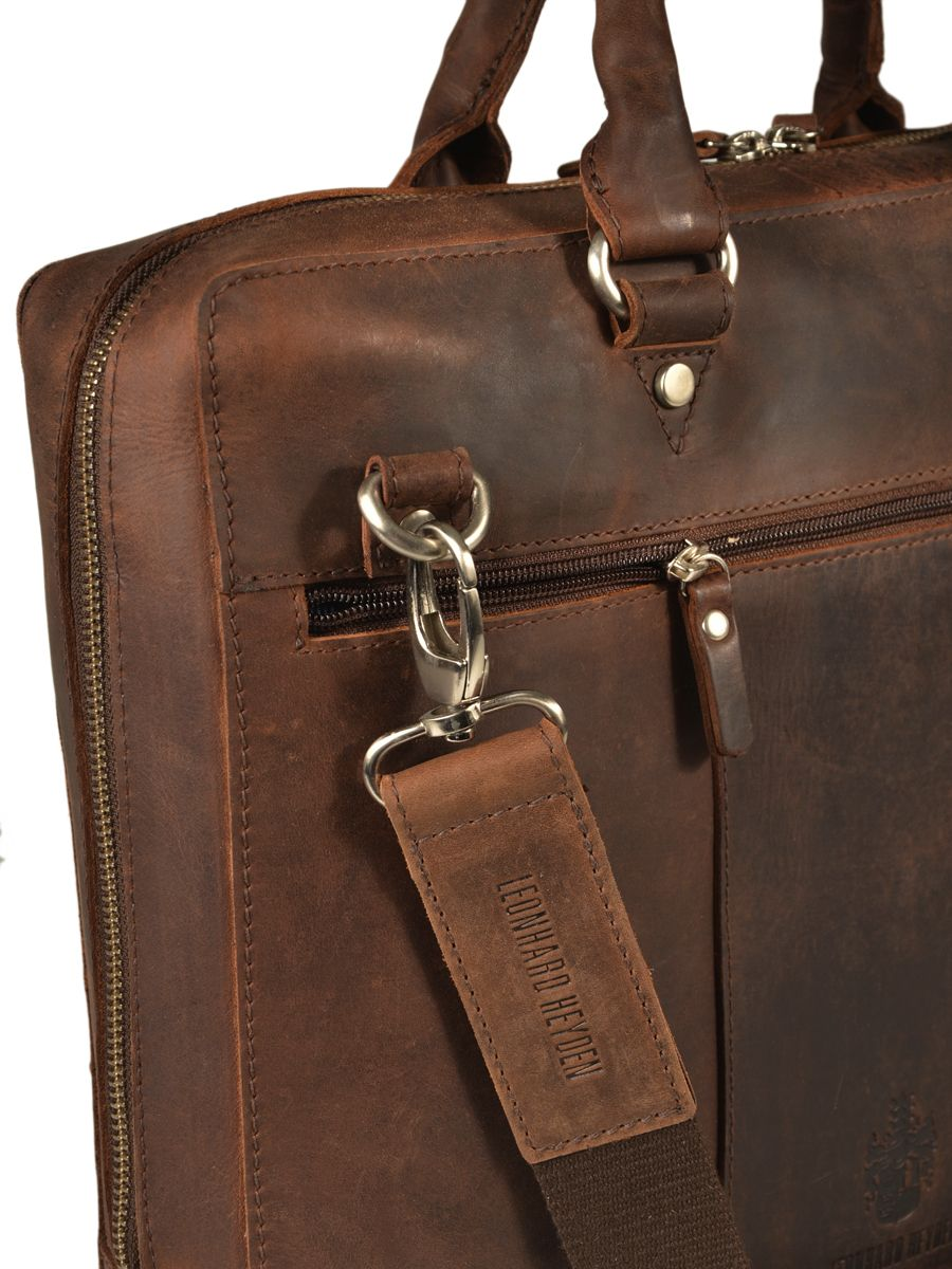 Porte ordinateur leonhard heyden salisbury brown en vente for Porte ordinateur