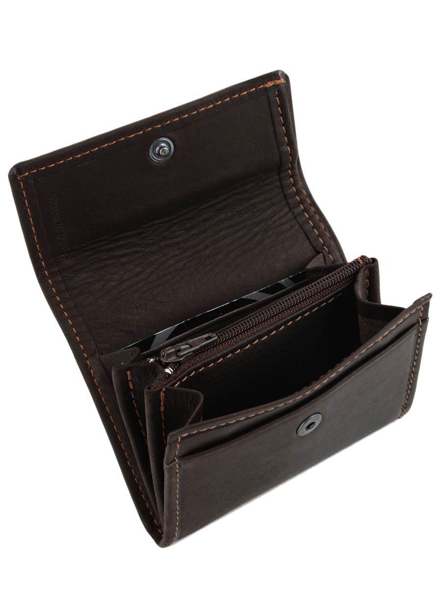 Porte monnaie etrier oil marron fonce en vente au meilleur for Porte monnaie
