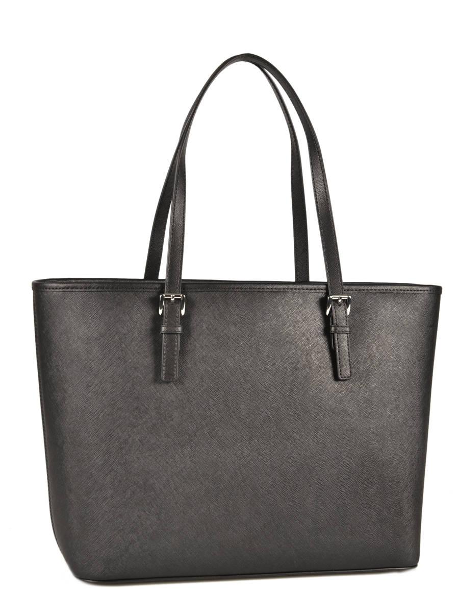 Ping Bag Jet Set Travel Leather Michael Kors Black S4stvt2l Other View 4
