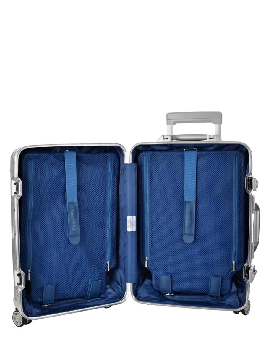 valise cabine rimowa topas argent en vente au meilleur prix. Black Bedroom Furniture Sets. Home Design Ideas