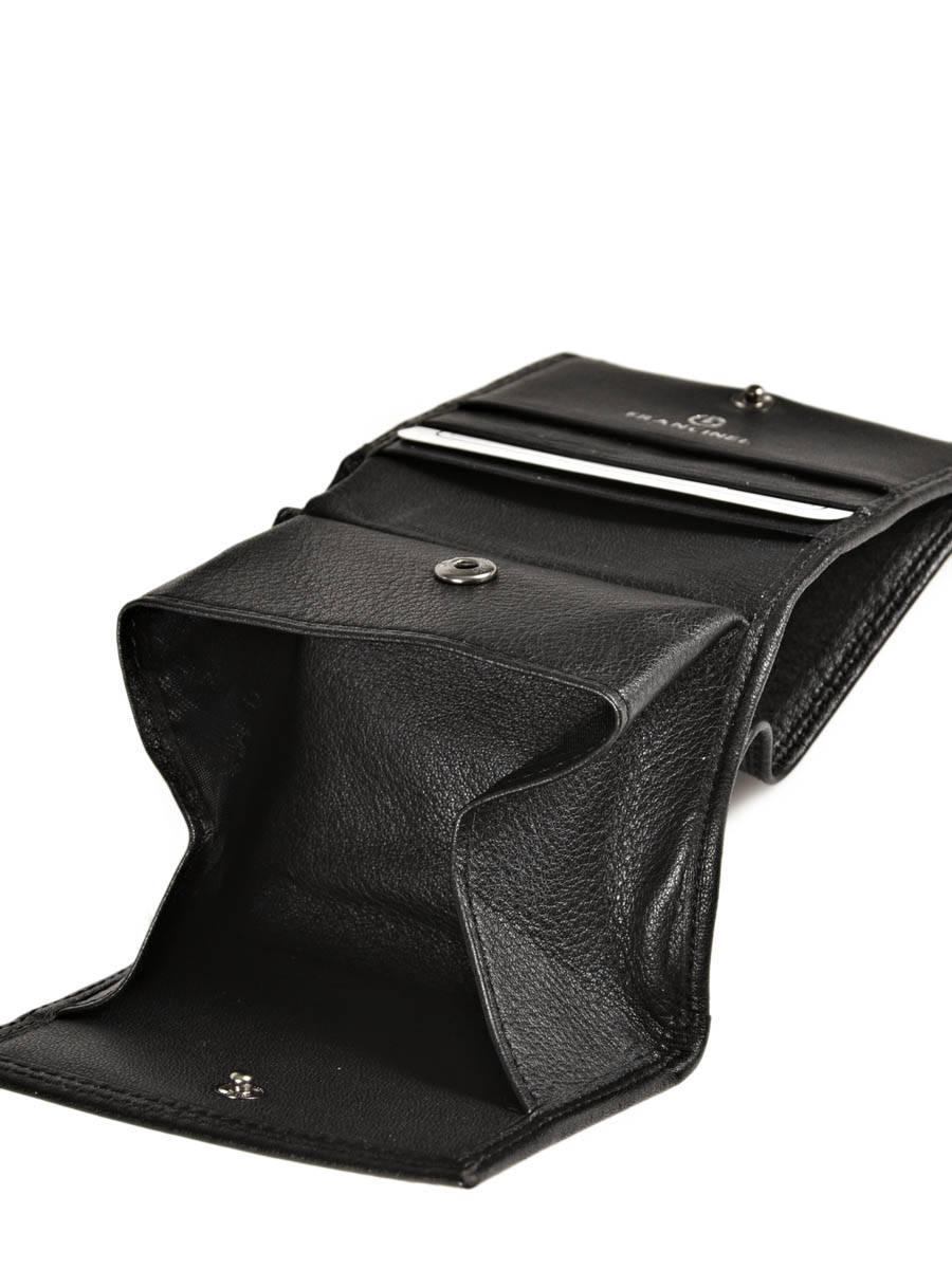 9c54e27200 Purse Leather Francinel Black bruges 67943 other view 3 ...