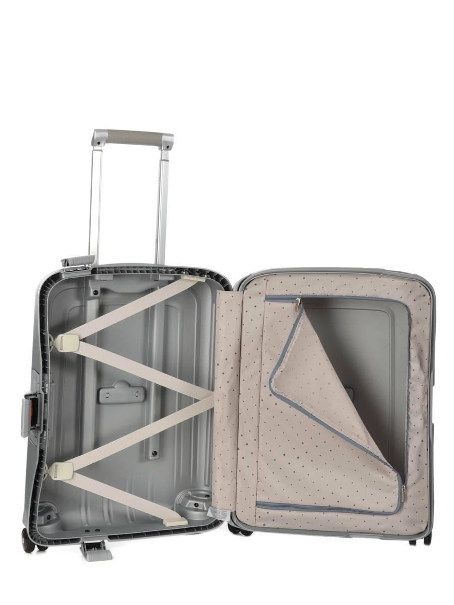valise cabine samsonite s 39 cure silver en vente au meilleur. Black Bedroom Furniture Sets. Home Design Ideas