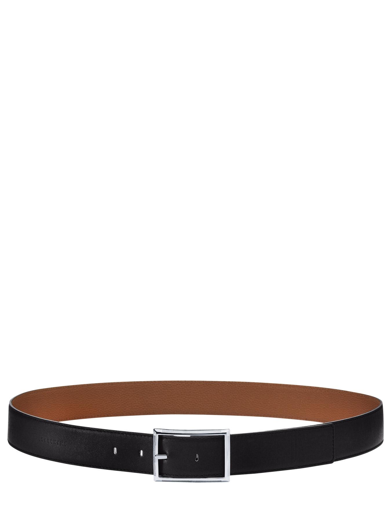 Ceinture Longchamp 42008G64 noir cognac en vente au meilleur prix 67b66c48939