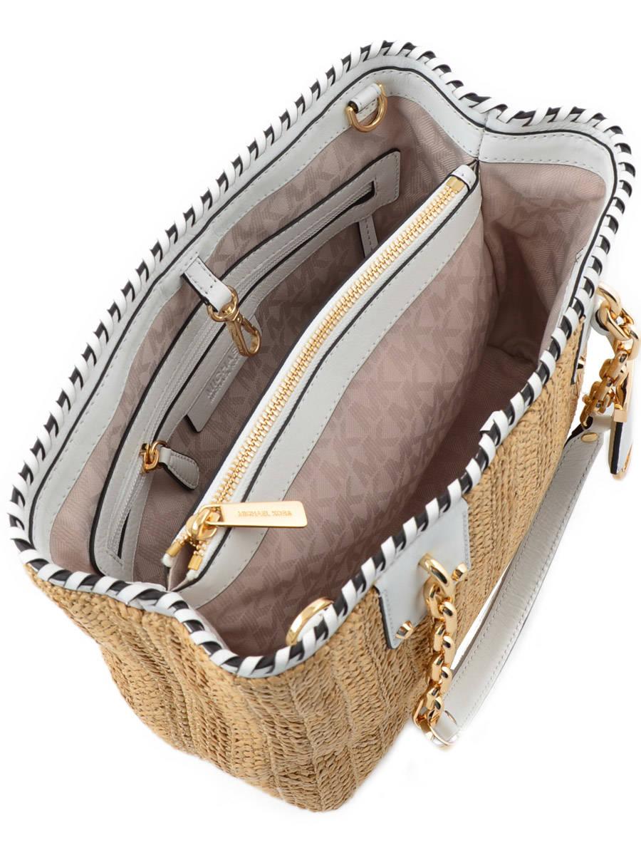 straw rosalie michael kors bag s6gs4t6w best prices. Black Bedroom Furniture Sets. Home Design Ideas