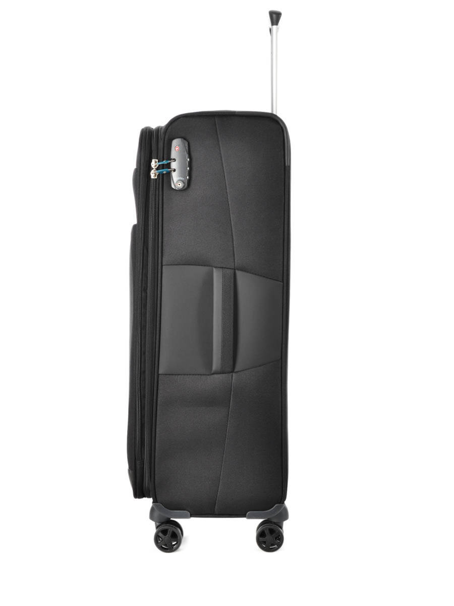 valise souple samsonite dynamo black en vente au meilleur prix. Black Bedroom Furniture Sets. Home Design Ideas