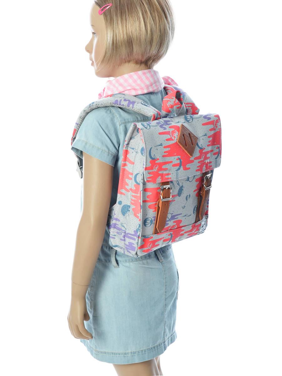 b3b08fac125 ... Backpack Mini Herschel Gray kids 10142 other view 3 ...