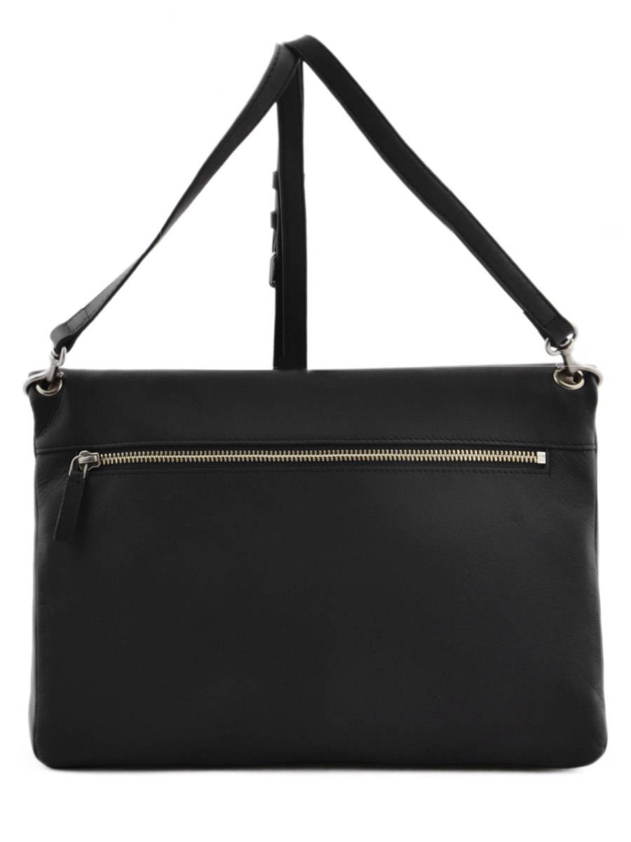 Sac Lancaster Clara Noir : Sac lancaster soft vintage clara noir e en vente au