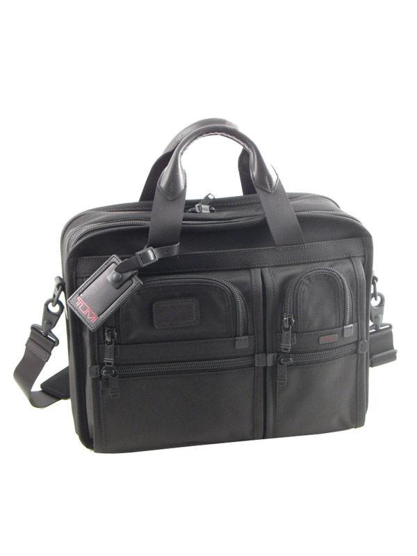 Briefcase Tumi Black alpha 2 business DH26141