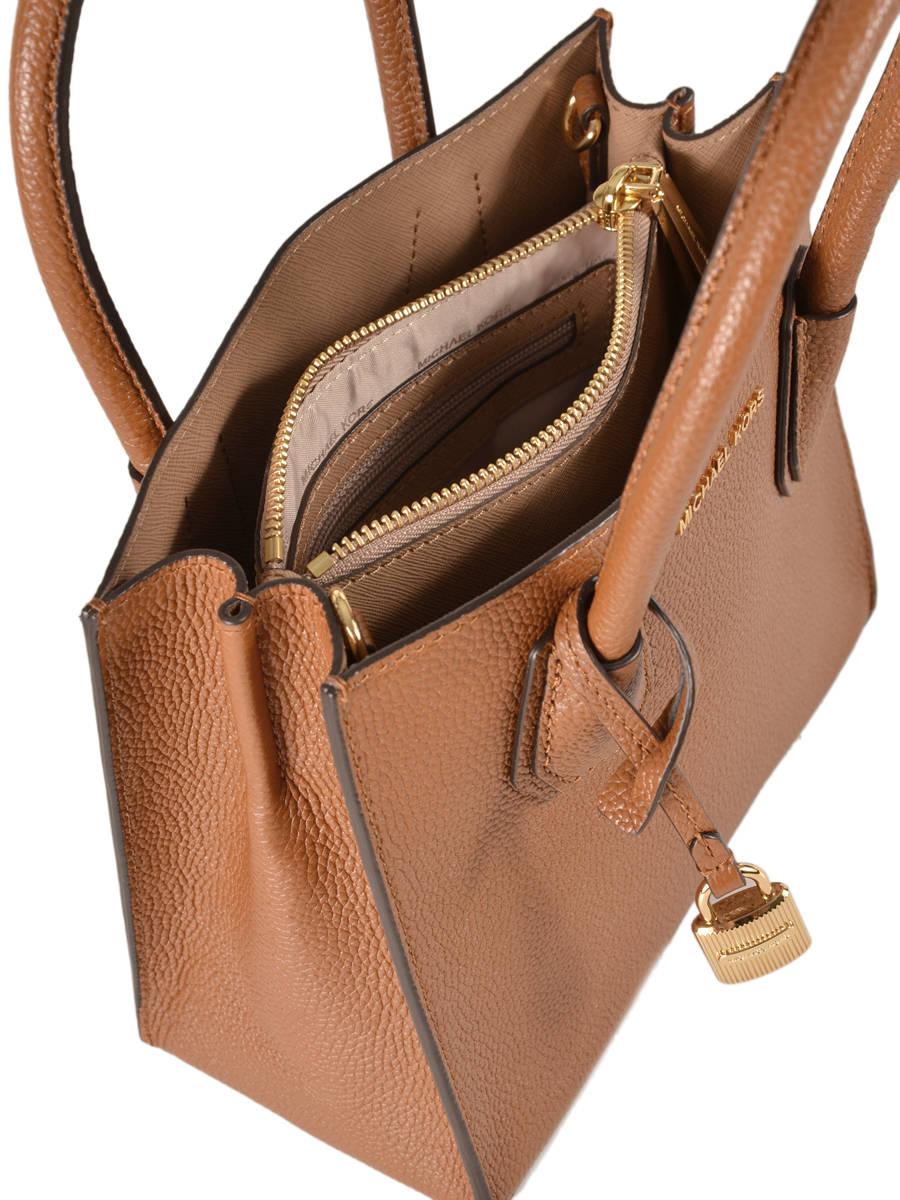 e340be8c1d0ea5 Crossbody Bag Mercer Leather Michael kors Brown mercer F6GM9M2L other view 5