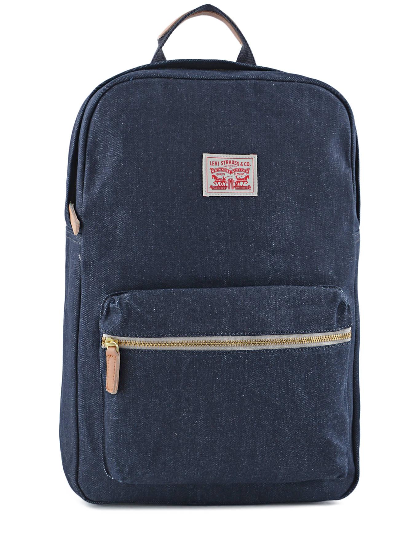 sac dos levi 39 s canvas dark blue en vente au meilleur prix. Black Bedroom Furniture Sets. Home Design Ideas