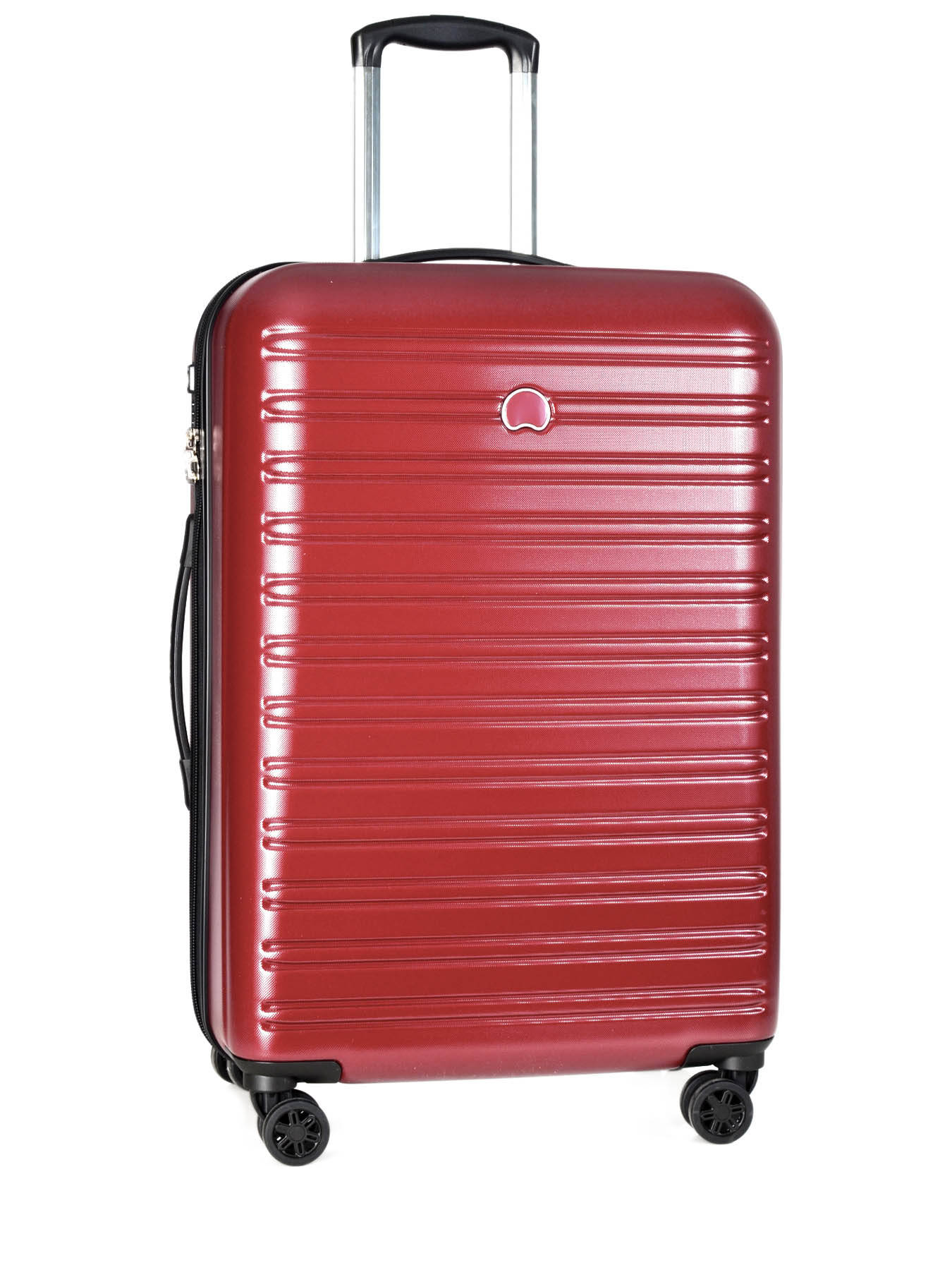 valise rigide delsey segur rouge en vente au meilleur prix. Black Bedroom Furniture Sets. Home Design Ideas