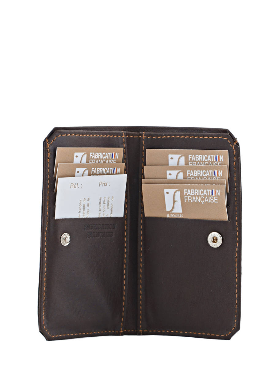 Porte cartes foures baroudeur marron fonce en vente au for Porte secondaire