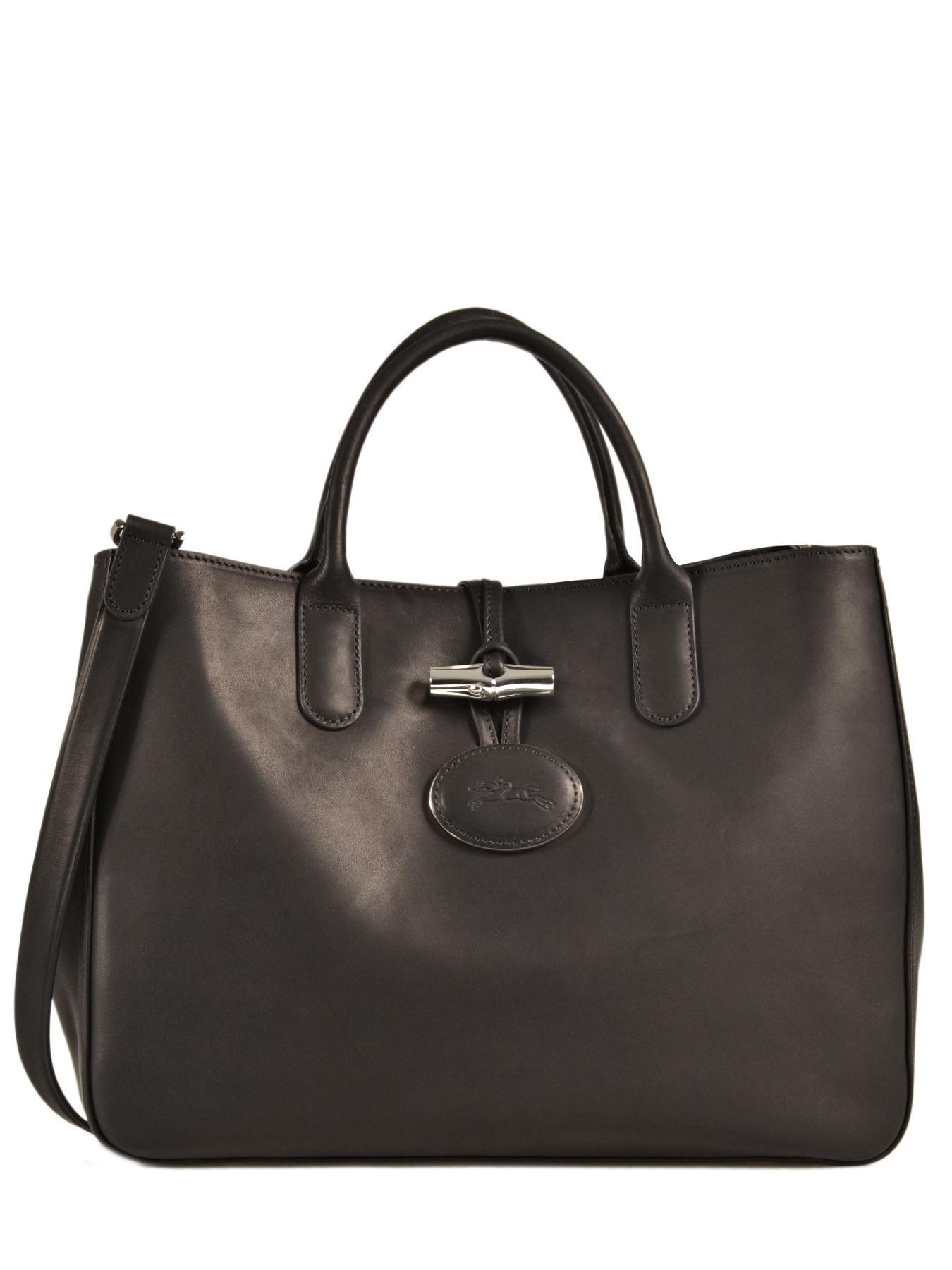 0d597c76725 Longchamp Handbag Black · Longchamp Handbag Black ...