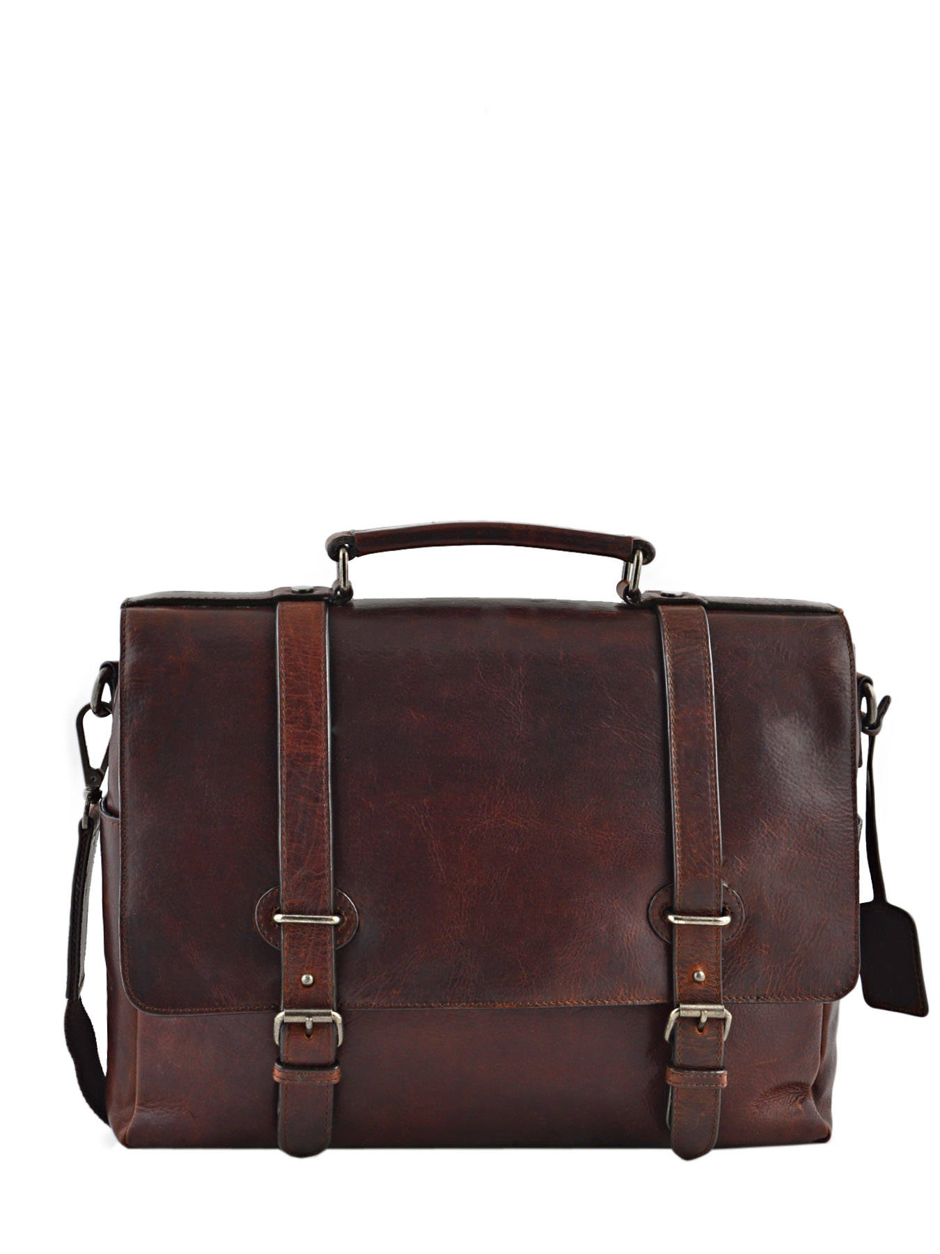 8d03857a38114 ... Briefcase 1 Compartment + 13   Pc Leonhard heyden Brown roma 5372 ...