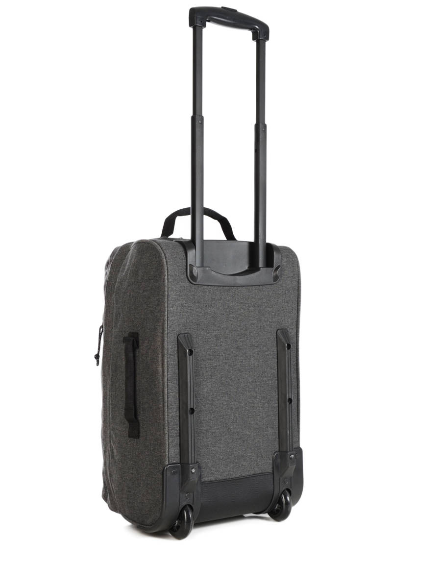 valise cabine eastpak authentic luggage black denim en vente au meilleur prix. Black Bedroom Furniture Sets. Home Design Ideas