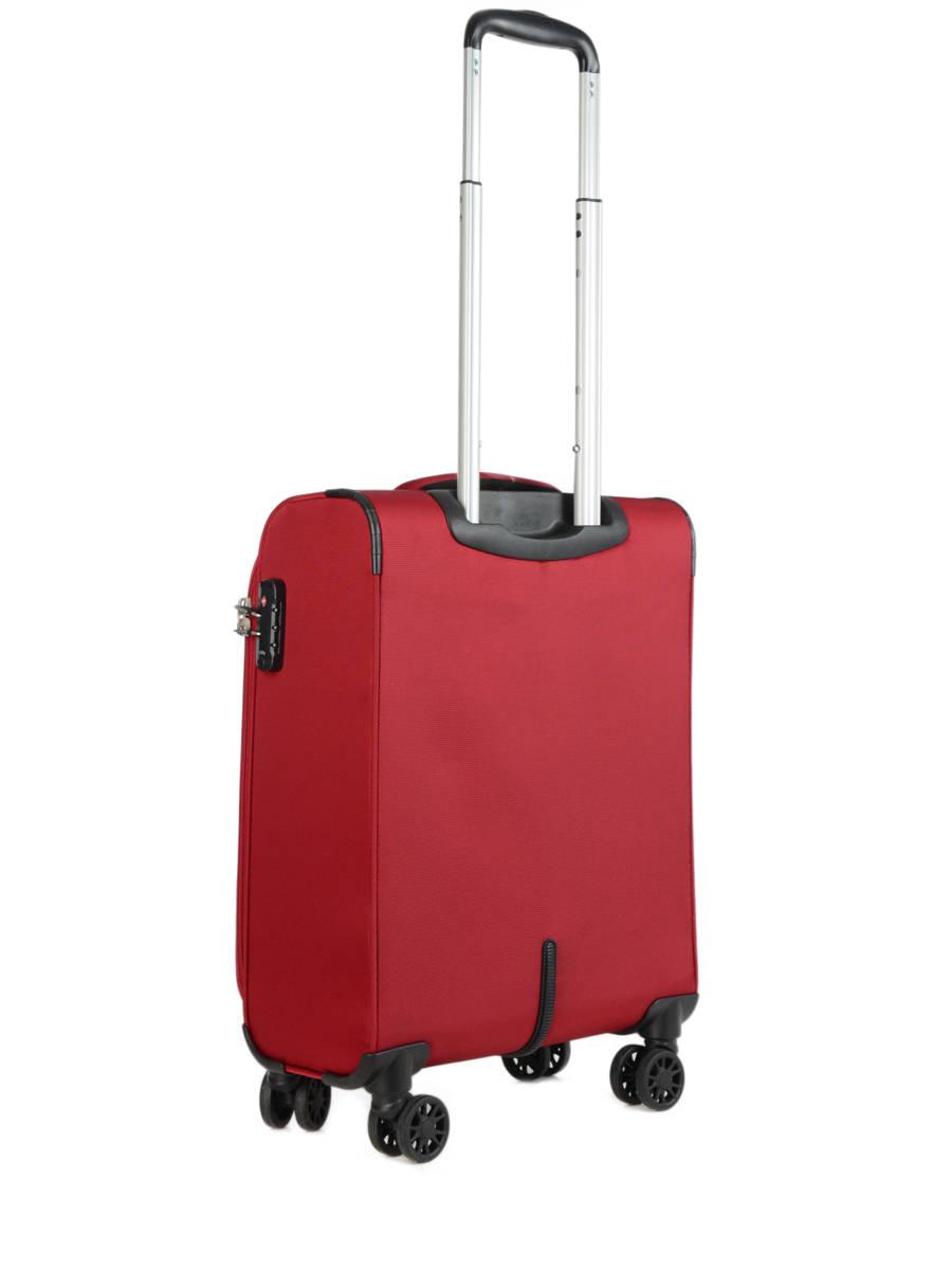 valise cabine jump crossline soft rouge en vente au meilleur prix. Black Bedroom Furniture Sets. Home Design Ideas