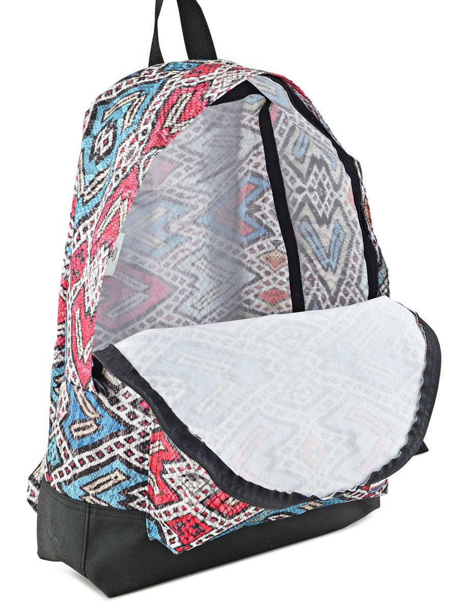 e071a5c483d Sac à Dos 1 Compartiment Roxy Multicolore backpack RJBP3406 vue secondaire  ...