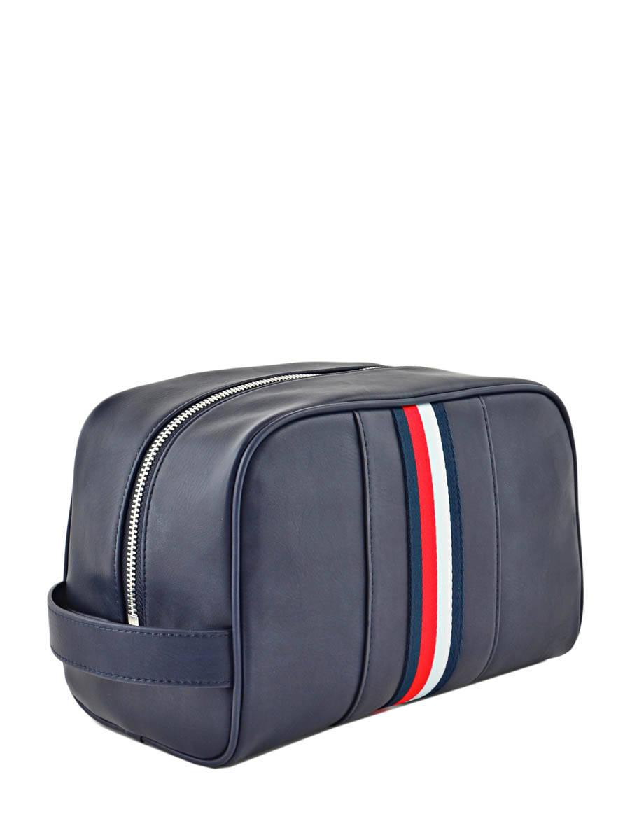 trousse de toilette tommy hilfiger novelty stripe navy en vente au meilleur prix. Black Bedroom Furniture Sets. Home Design Ideas