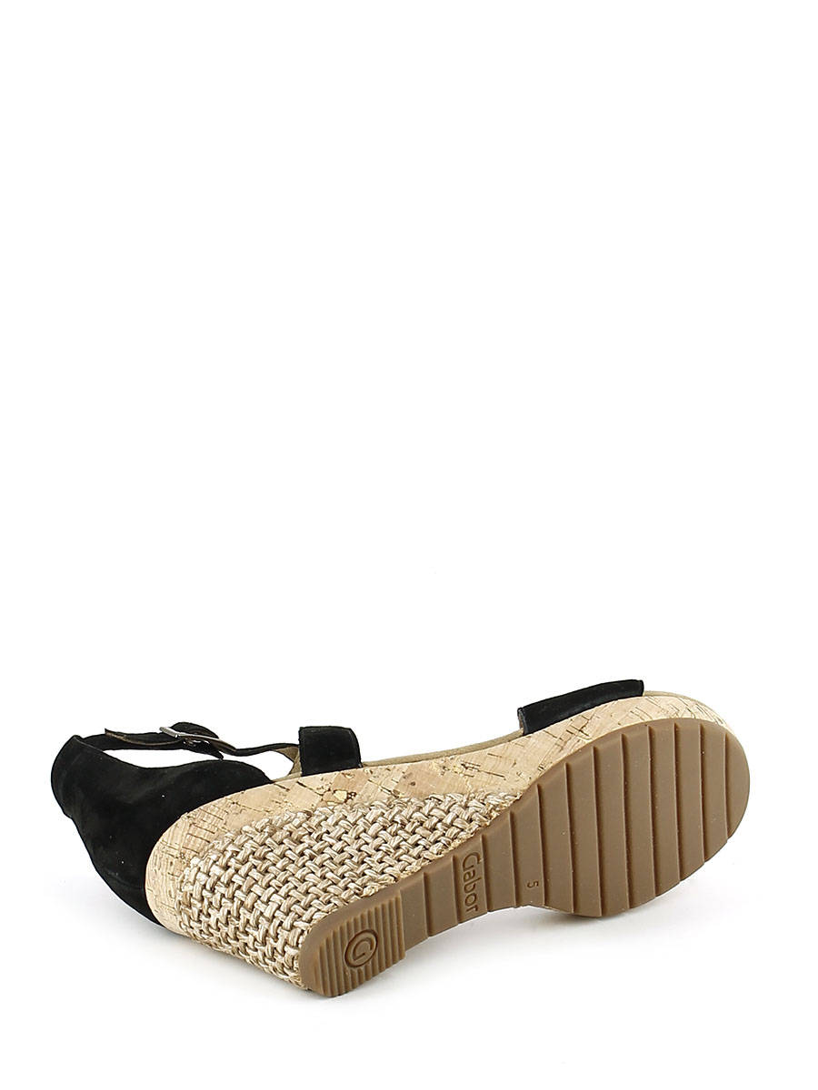 Sandales Avec Ceinture Noire Gabor jzXWOwh9sf
