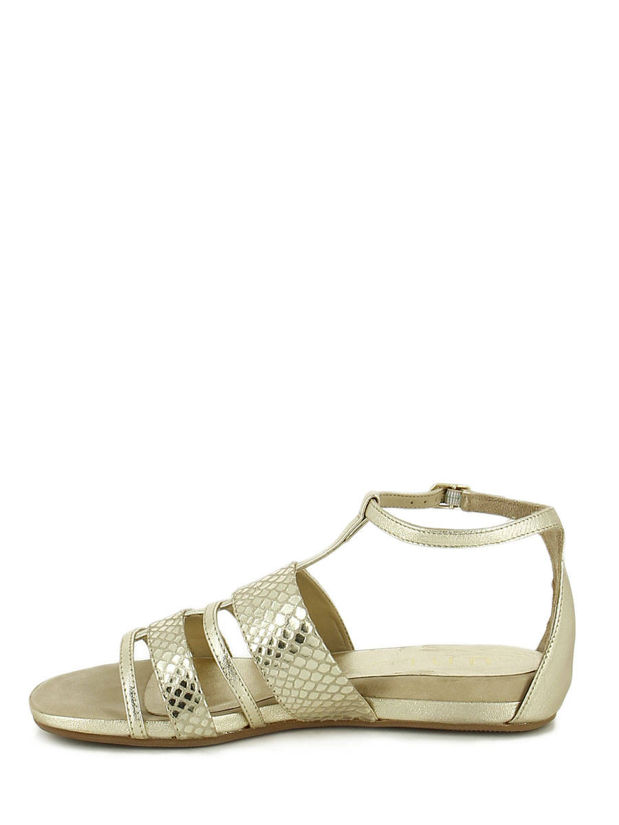 24c29a7cb91c ... Sandals Unisa Gold sandales   nu-pieds ASIRA other view 2 ...