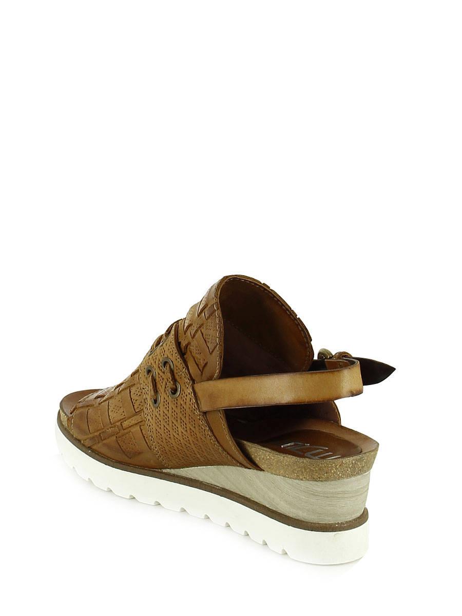 4ea4731566b3 ... Sandals Mjus Brown sandales   nu-pieds 221013 other view 3 ...
