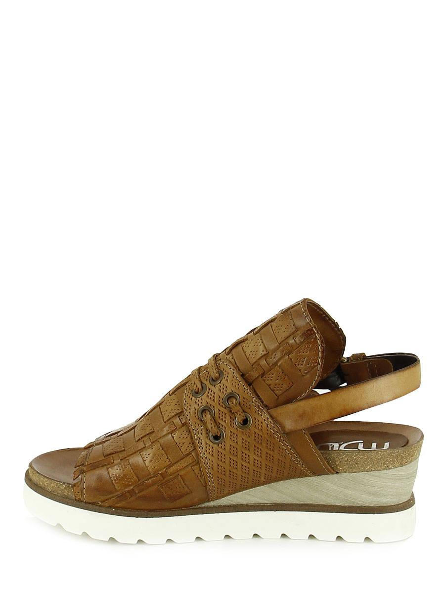 305e3b09c82d ... Sandals Mjus Brown sandales   nu-pieds 221013 other view 2 ...