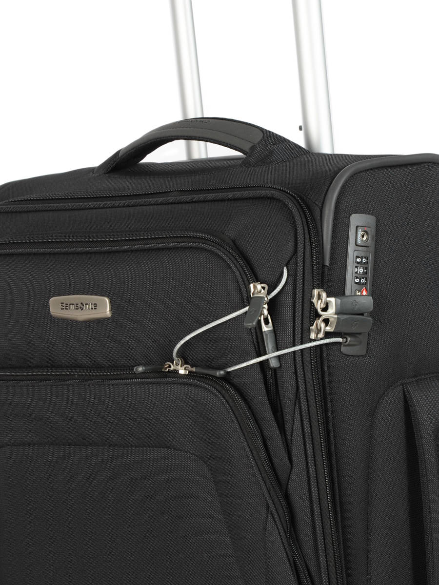 404c5950a ... Softside Luggage Spark Sng Samsonite Black spark sng 65N008 other view  1 ...
