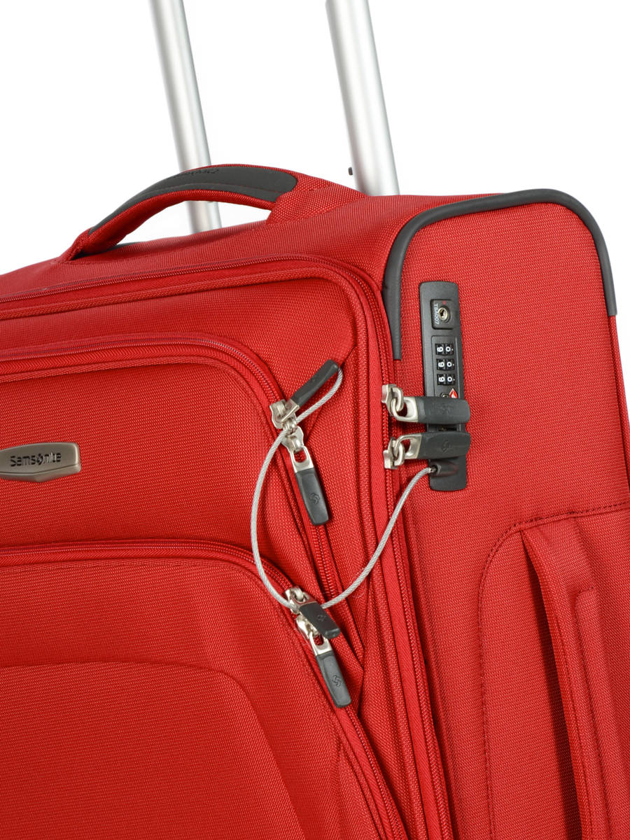 1909242f8 ... Softside Luggage Spark Sng Samsonite Red spark sng 65N007 other view 1  ...