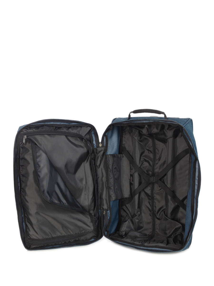 bagages pas chers eastpak pbg authentic luggage double denim en vente au meilleur prix. Black Bedroom Furniture Sets. Home Design Ideas