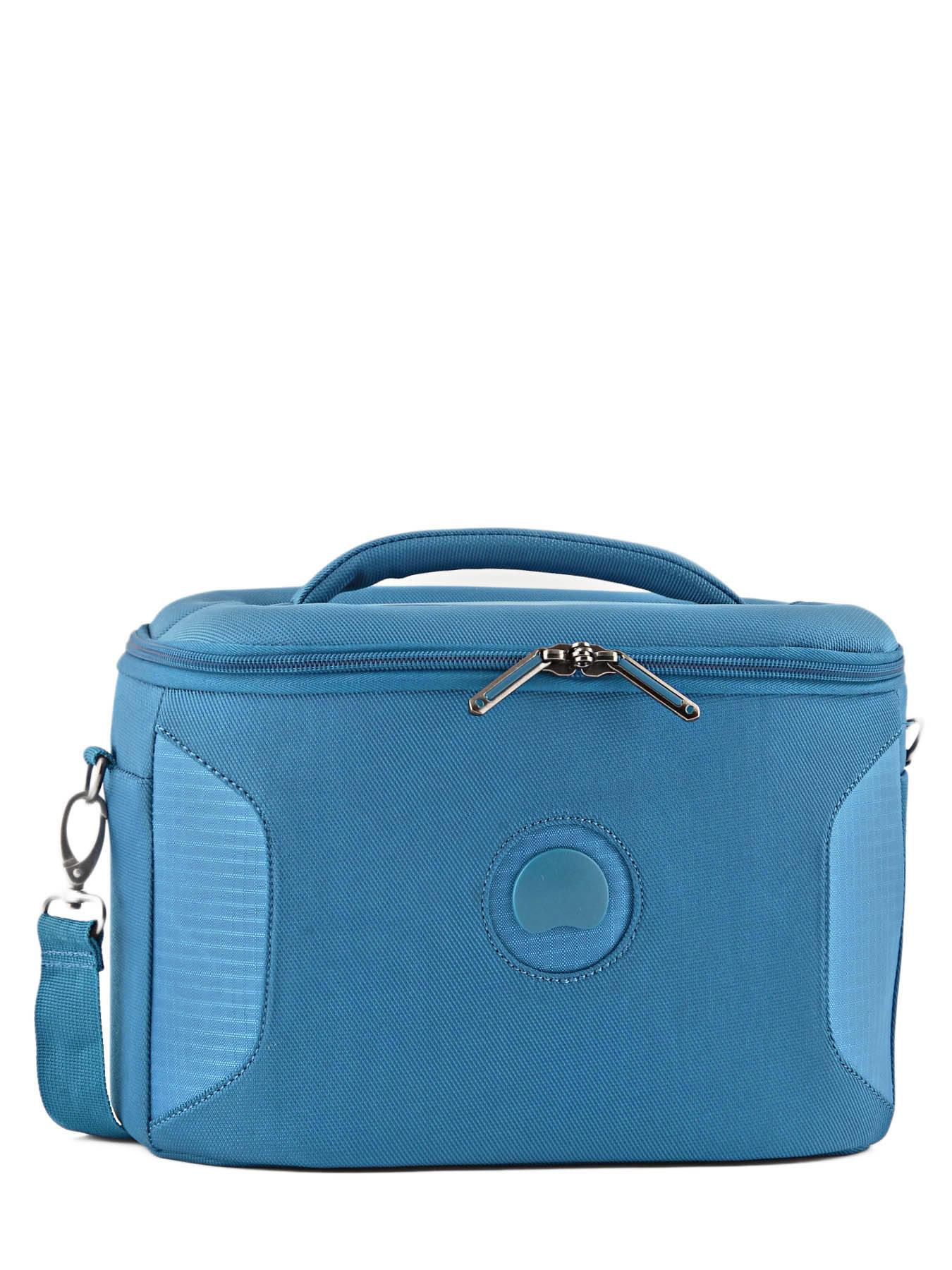 beauty case delsey ulite classic 2 blue en vente au meilleur prix. Black Bedroom Furniture Sets. Home Design Ideas