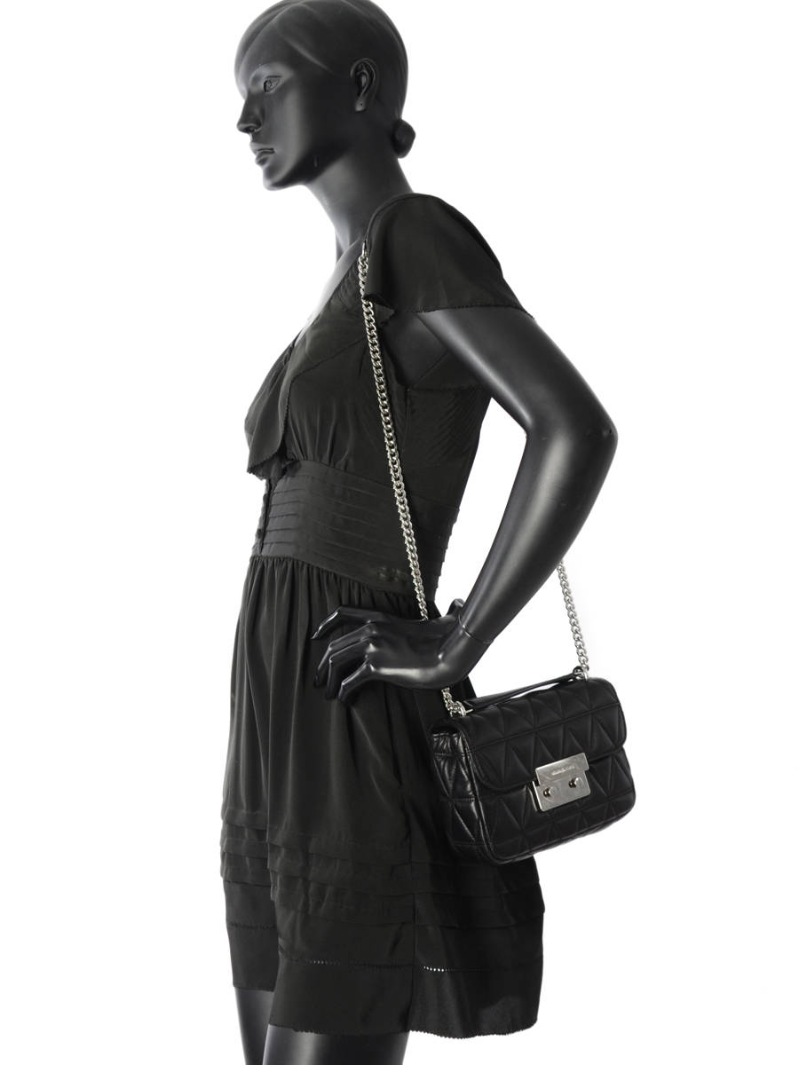 ... Shoulder Bag Sloan Leather Michael kors Black sloan S7SSLL1L other view  2 ... 85868601e48d0