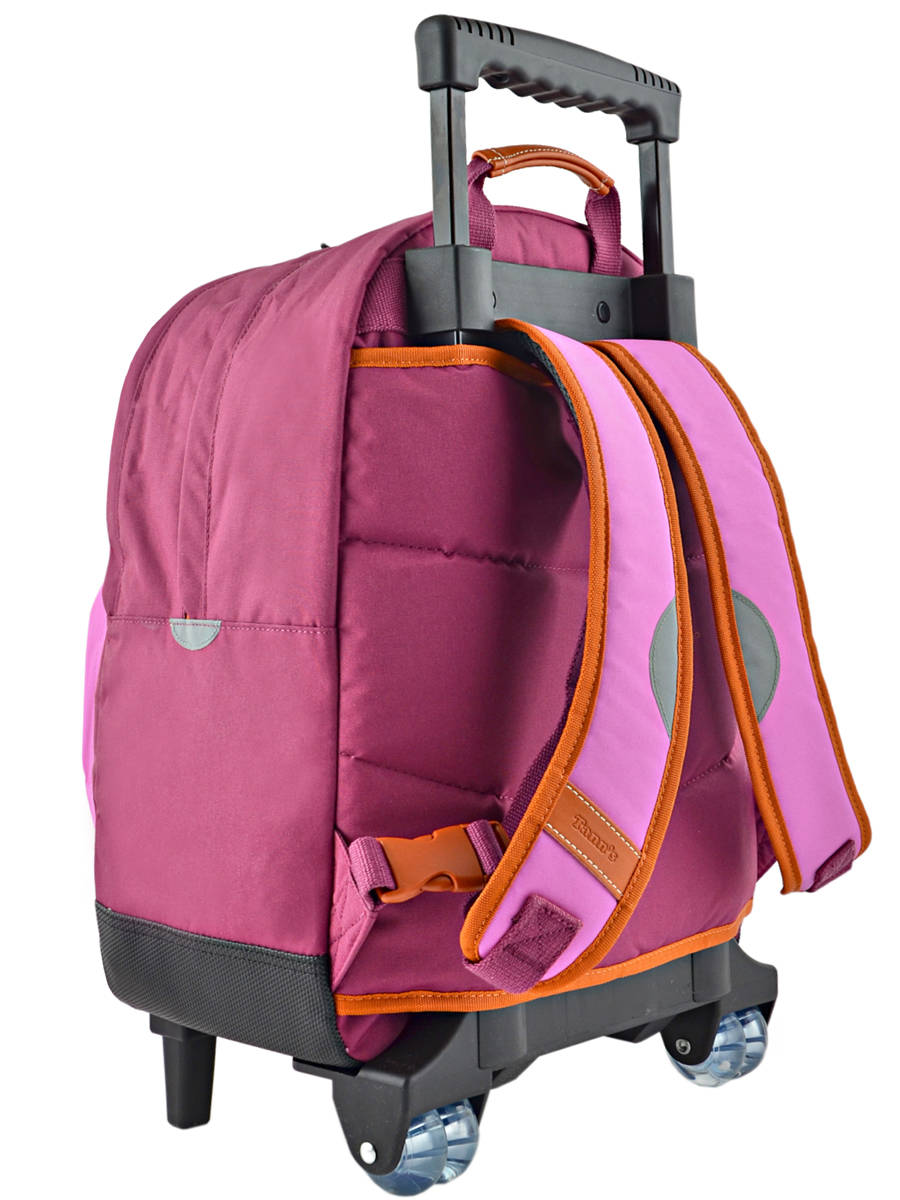 sac a dos roulettes tann 39 s iconic violet parme en vente au. Black Bedroom Furniture Sets. Home Design Ideas