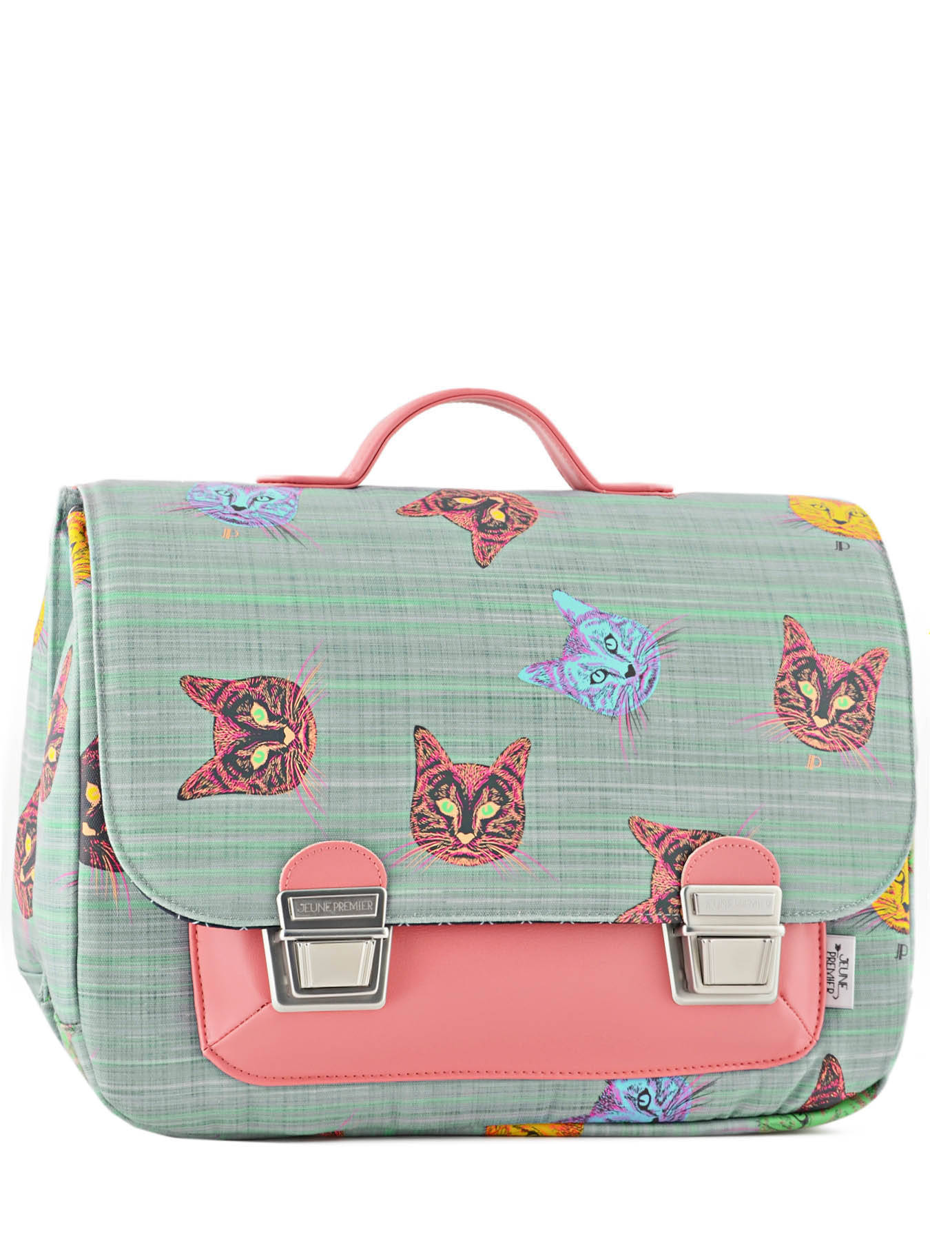 Cartable Jeune Premier It bag Maxi Kittens 40 cm bleu 2NzYe8P