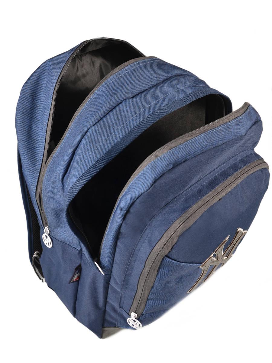 sac dos mlb new york yankees blus sky bleu en vente au meilleur prix. Black Bedroom Furniture Sets. Home Design Ideas