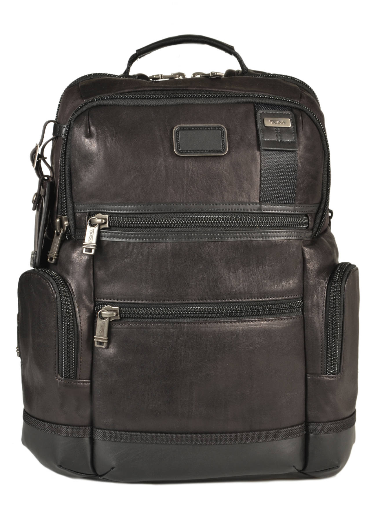 Leather Tumi Sac Dh92681 Dos à Alpha 2 Noir YBw84Rwgq