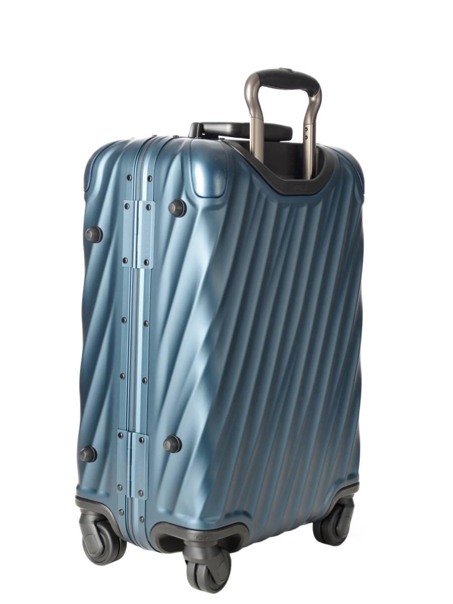 valise cabine tumi 19 blue en vente au meilleur prix. Black Bedroom Furniture Sets. Home Design Ideas