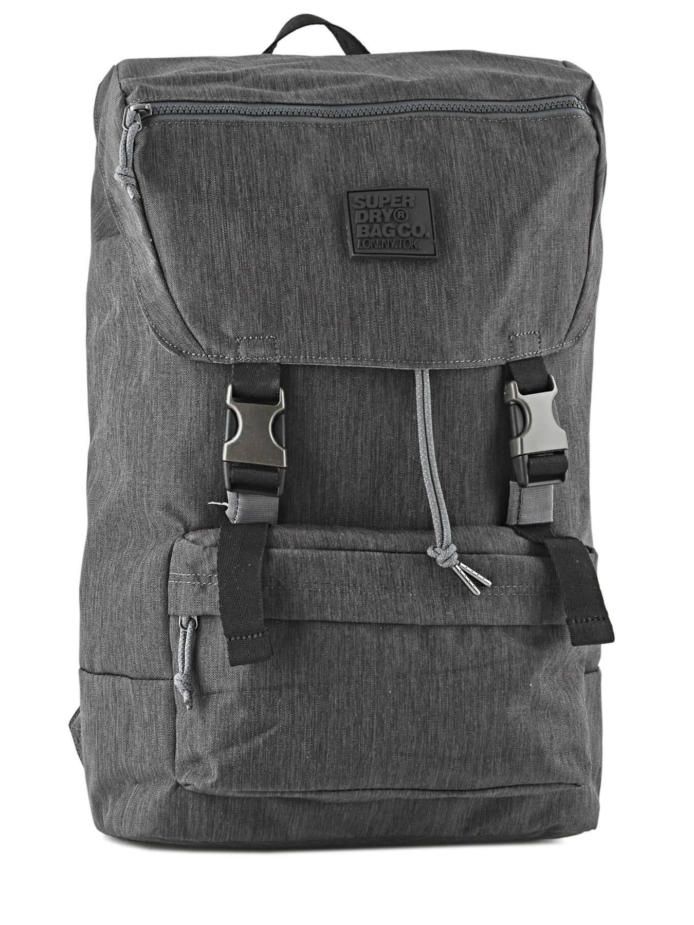 ... Backpack 1 Compartment Superdry Gray backpack men M91001JP ... 39de3862de7fc