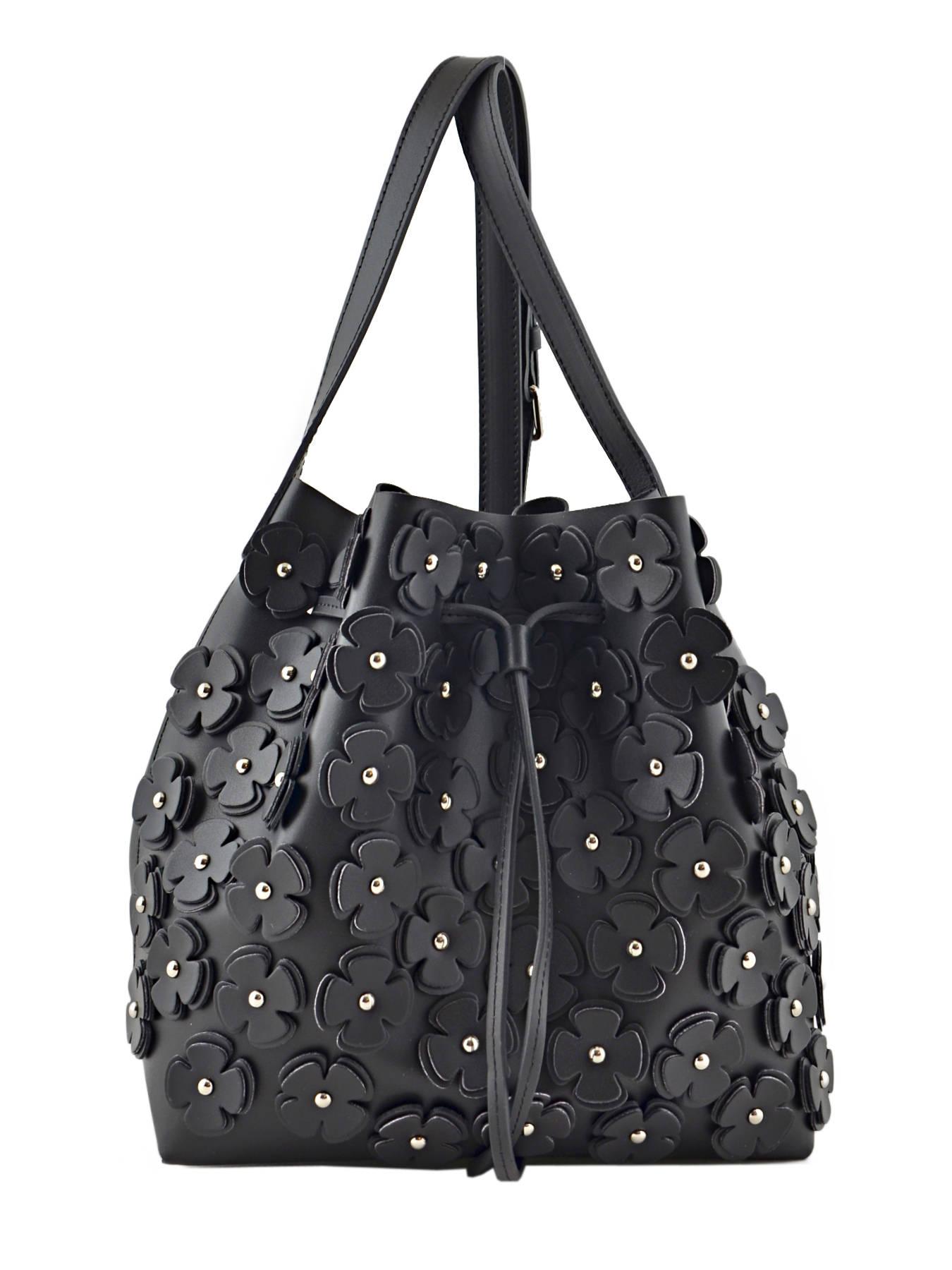 sac lancaster pur floral noir e en vente au meilleur prix. Black Bedroom Furniture Sets. Home Design Ideas