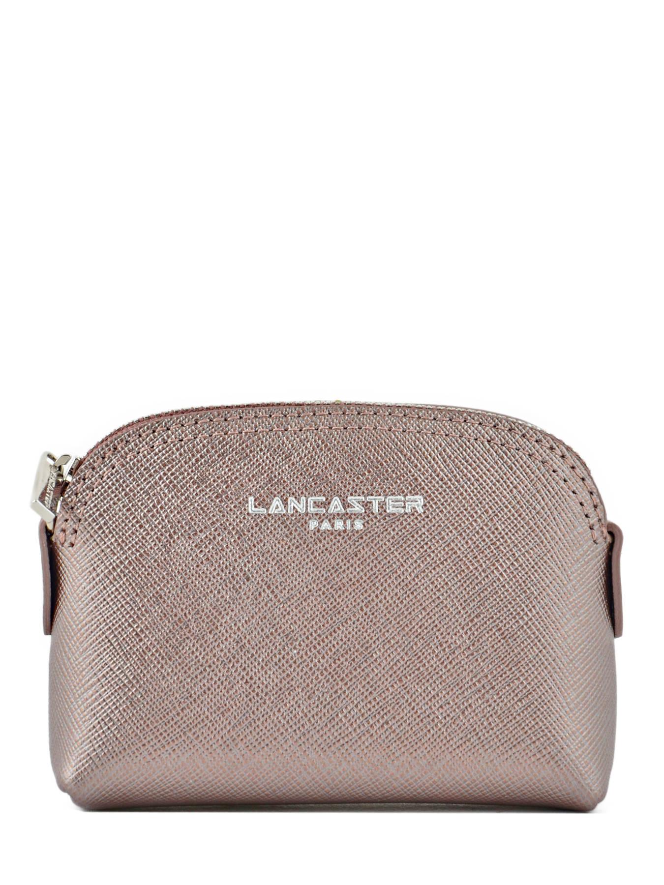 Porte monnaie lancaster adele or rose en vente au meilleur prix - Porte monnaie femme lancaster ...