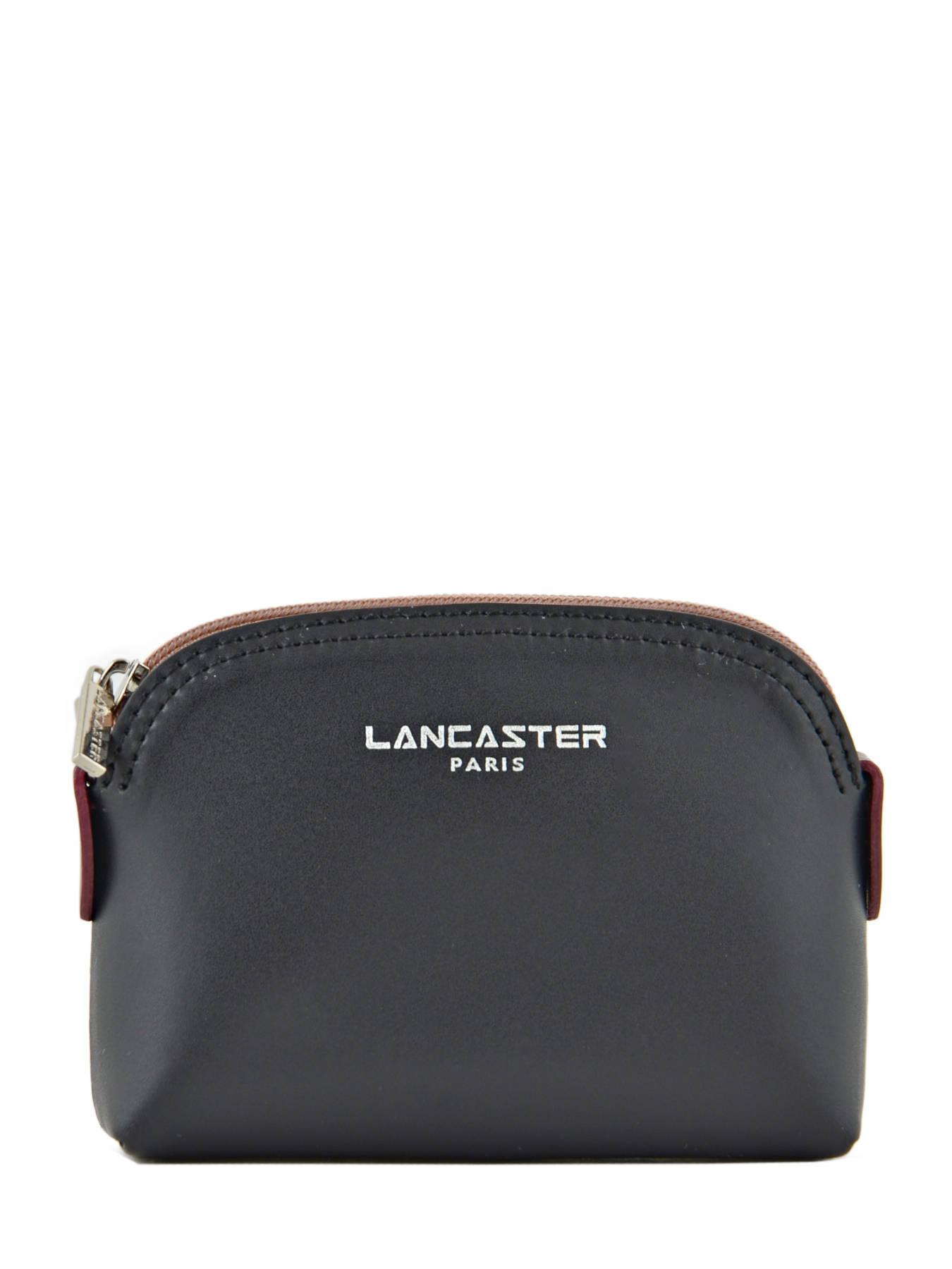 Porte monnaie lancaster constance noir bn en vente au meilleur prix - Porte monnaie femme lancaster ...