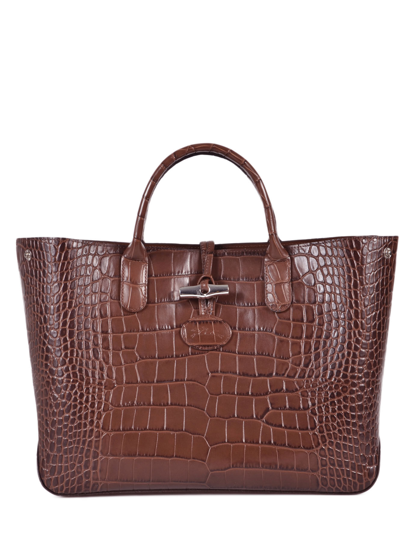 longchamp handbag roseau croco best prices. Black Bedroom Furniture Sets. Home Design Ideas