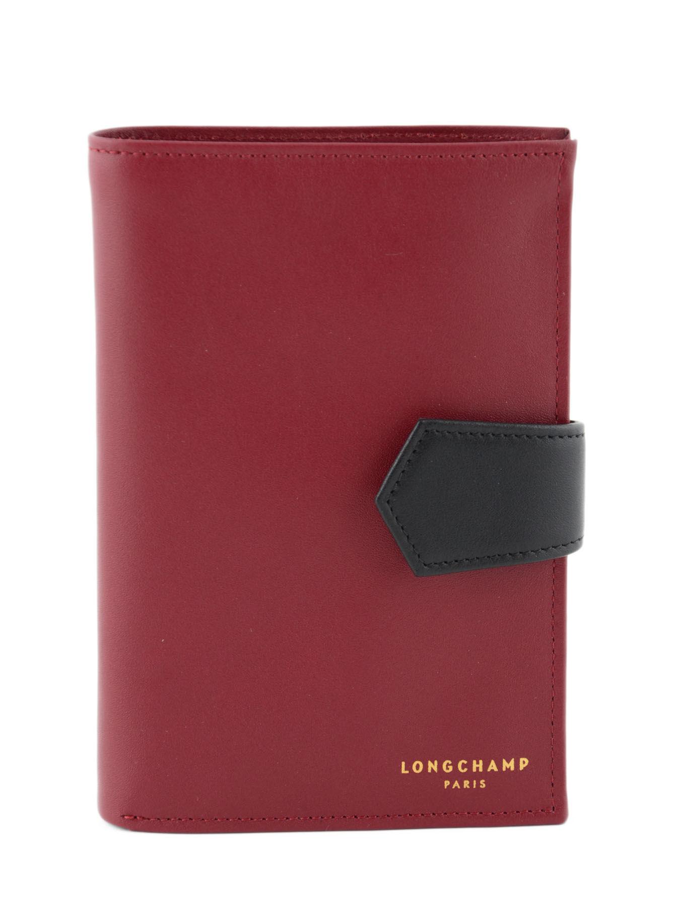 Longchamp Longchamp 2.0 Wallet Red