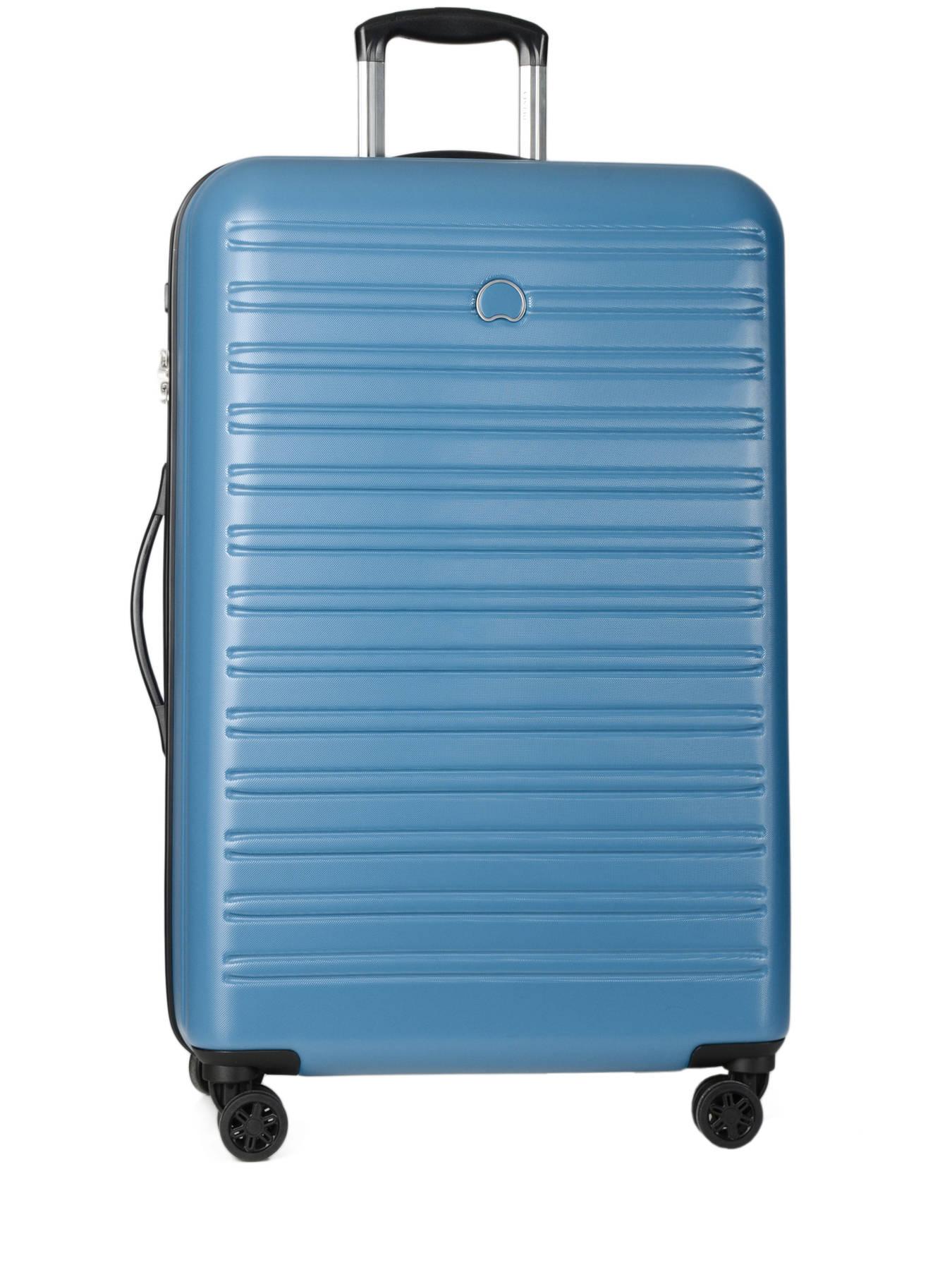 valise rigide delsey segur blue en vente au meilleur prix. Black Bedroom Furniture Sets. Home Design Ideas