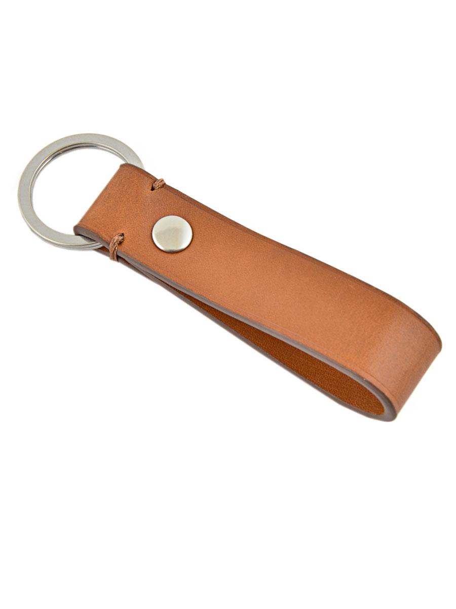 Porte-clefs Cuir Polo ralph lauren Marron university 5663111-vue-porte
