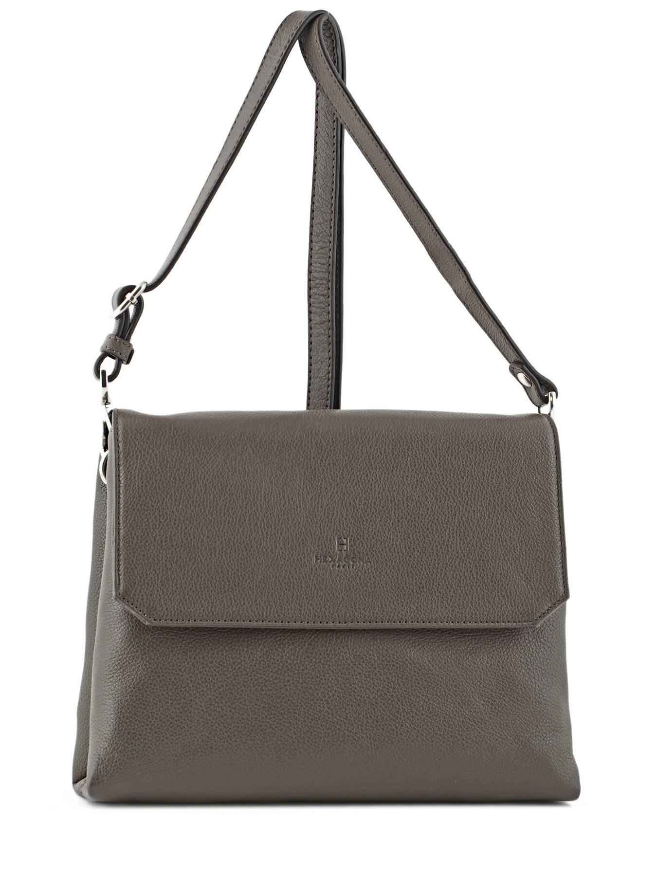 cd9978dd439a Shoulder Bag Pretty Leather Hexagona Brown pretty 465022 … cute shoulder  bags