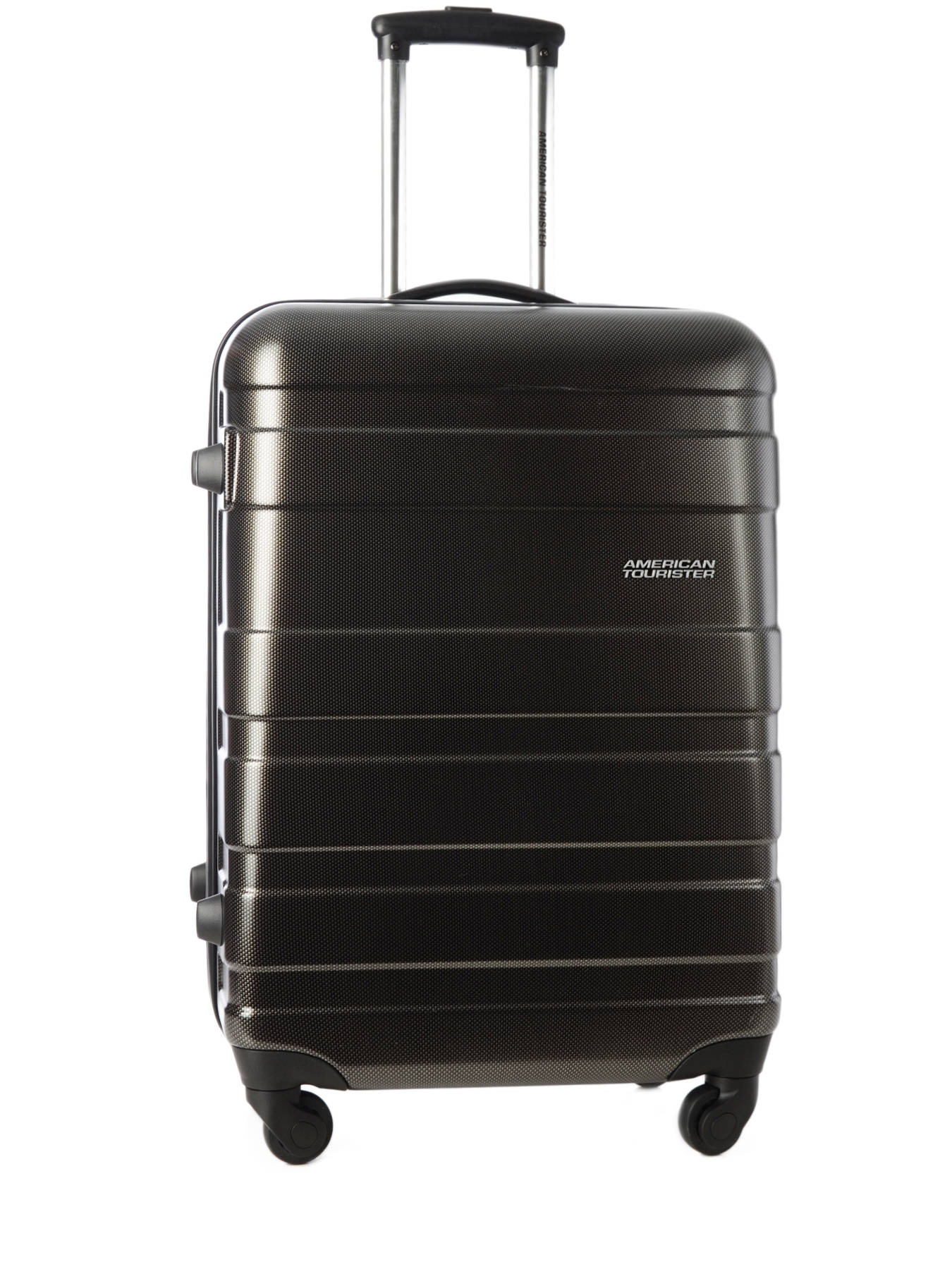 valise rigide american tourister pasadena black gre en. Black Bedroom Furniture Sets. Home Design Ideas